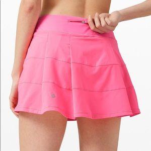 Lululemon Pace Rival Skirt *tall -Dark prism pink